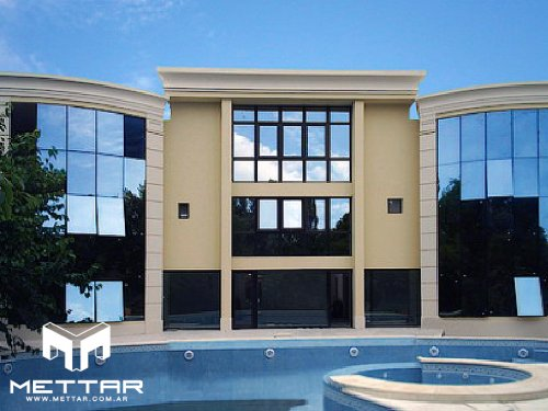 Curtain Wall Alcemar Negro